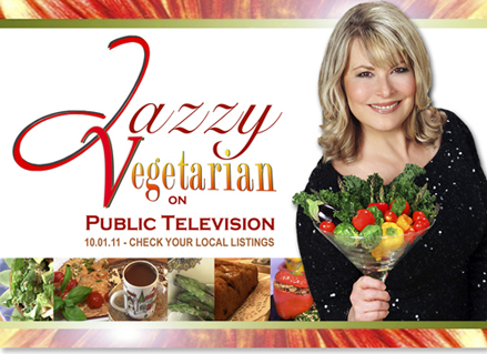 Jazzy Vegetarian cooking show