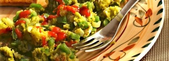 Vegan Green Eggs and Ham