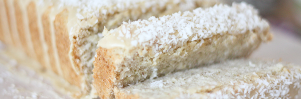 Gluten Free Vegan Coconut Lime Loaf