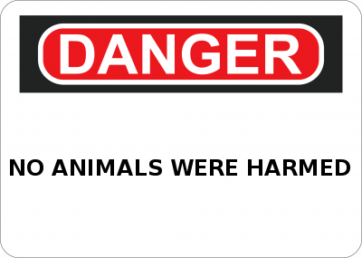 not eating animals dangerous