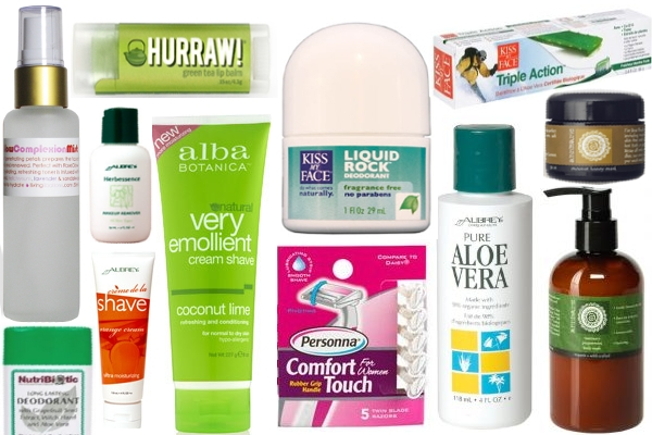 vegan women personal care products
