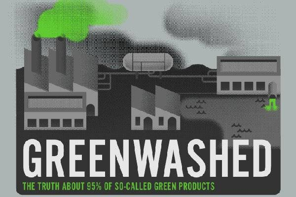 Greenwashing infographic