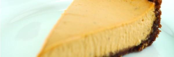 Pumpkin Cheesecake with a Gingersnap Crust