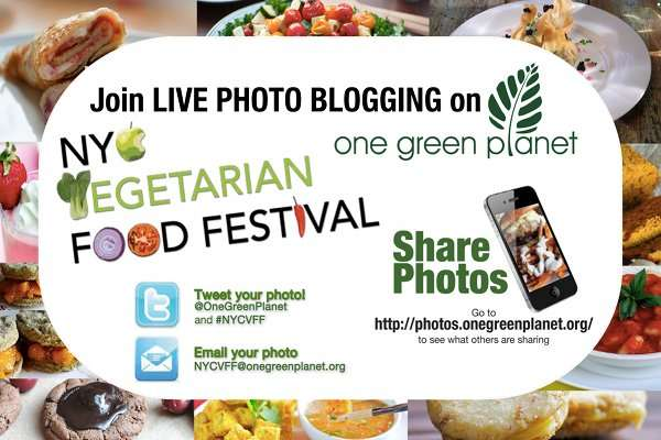 Join the Photo Blogging Madness at the NYC Vegetarian Food Festival!