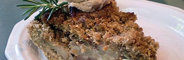 Recipe: Ginger-Streusel Pear Pie