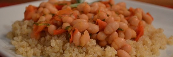 Recipe: Petite Navy Beans with Rosemary and Diced Tomato