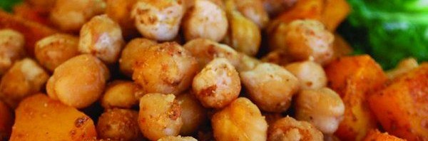 Recipe: Moroccan Sweet Potatoes and Chickpeas