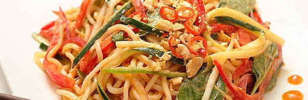 Recipe: Peanut Butter Spicy Noodles