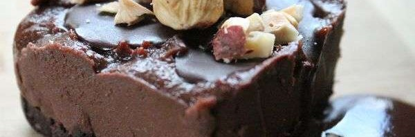 Recipe: Raw Chocolate Hazelnut Cheesecake
