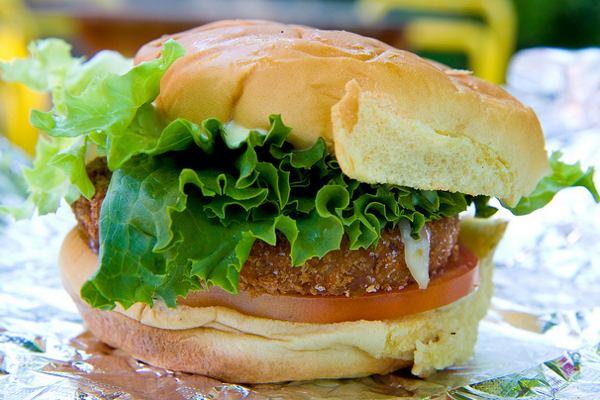 Battle of the Veggie Burgers!
