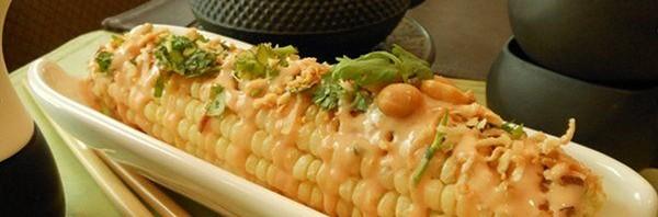 Recipe: Vegan Charred Corn on the Cob with Thai Chili-Lime Mayo