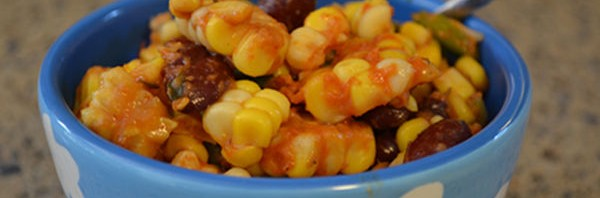 Recipe: Cajun Corn and Kidney Bean Salad