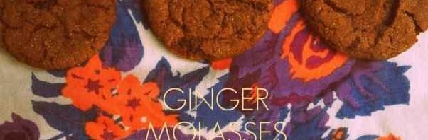 Recipe: Molasses Ginger Cookies
