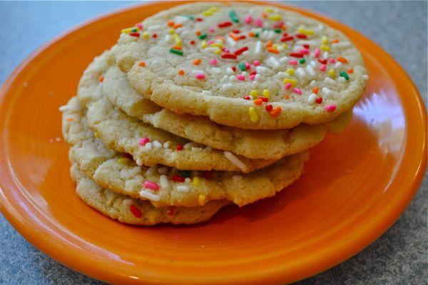 Vegan Chewy Sugar Cookies