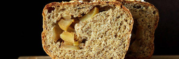 Recipe: Apple Pie Swirl Multigrain Bread Loaf