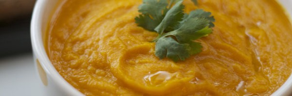 Recipe: Curried Carrot Ginger and Orange Soup