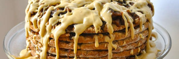Recipe: Dried Apple Stack Cake with Molasses Cream Cheese Frosting