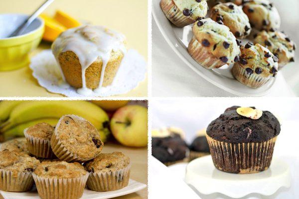 12 Mouthwatering Vegan Muffins