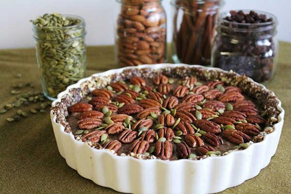 Recipe: Chia Caramel Pecan Pie