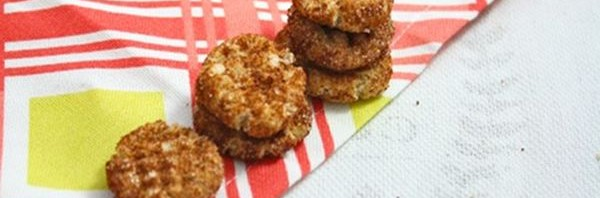 Recipe: Healthy Snickerdoodles