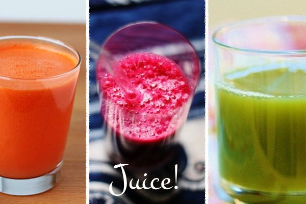 7 Delicious Juice Recipes for a Healthy New Year!