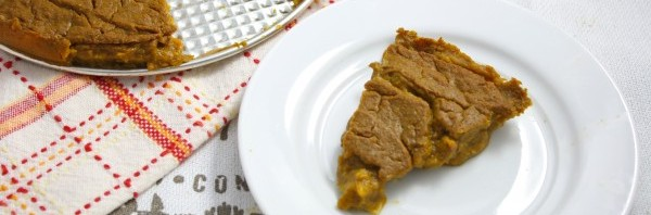 healthy pumpkin pie vegan