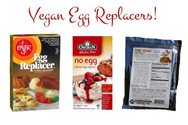Your Guide to Vegan Egg Replacers