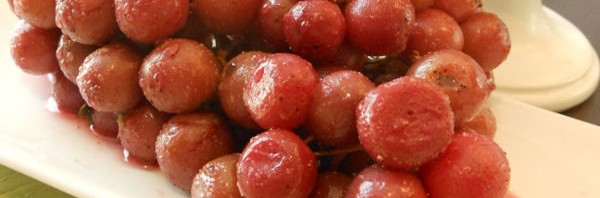 Recipe: Thyme-Scented Roasted Grapes