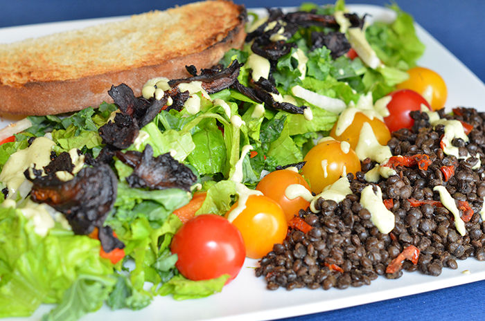 Recipe: BLT Salad with Super Secret Dressing
