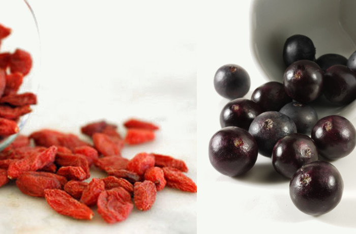 Food Face Off Goji Berries Vs Acai Berries The Berry Wars One Green Planet