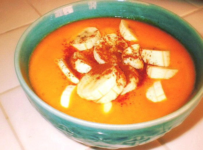 Recipe: Mango Butternut Squash Soup