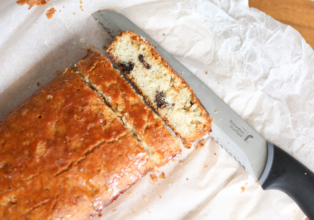 Almond and Prune Finger Cake