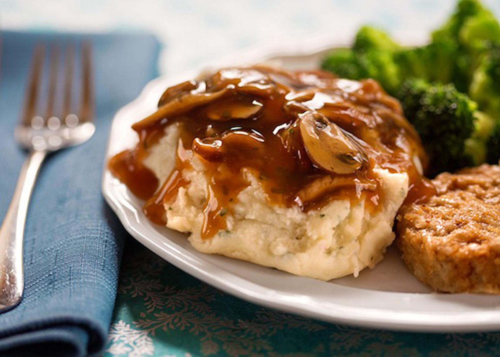vegan Easy Mushroom Gravy