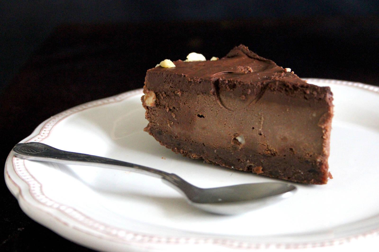 Gianduja Chocolate Mousse Cake Vegan1