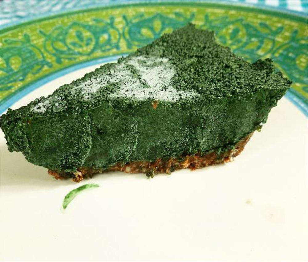 Spirulina Pie