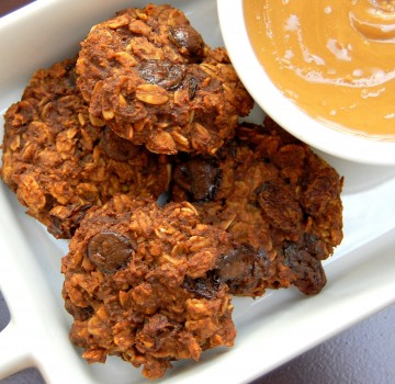 Sunflower Seed Butter Oatmeal Cookies