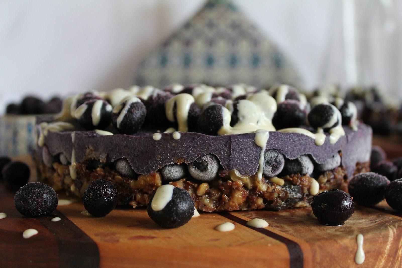 Vanilla Blueberry Tart 1