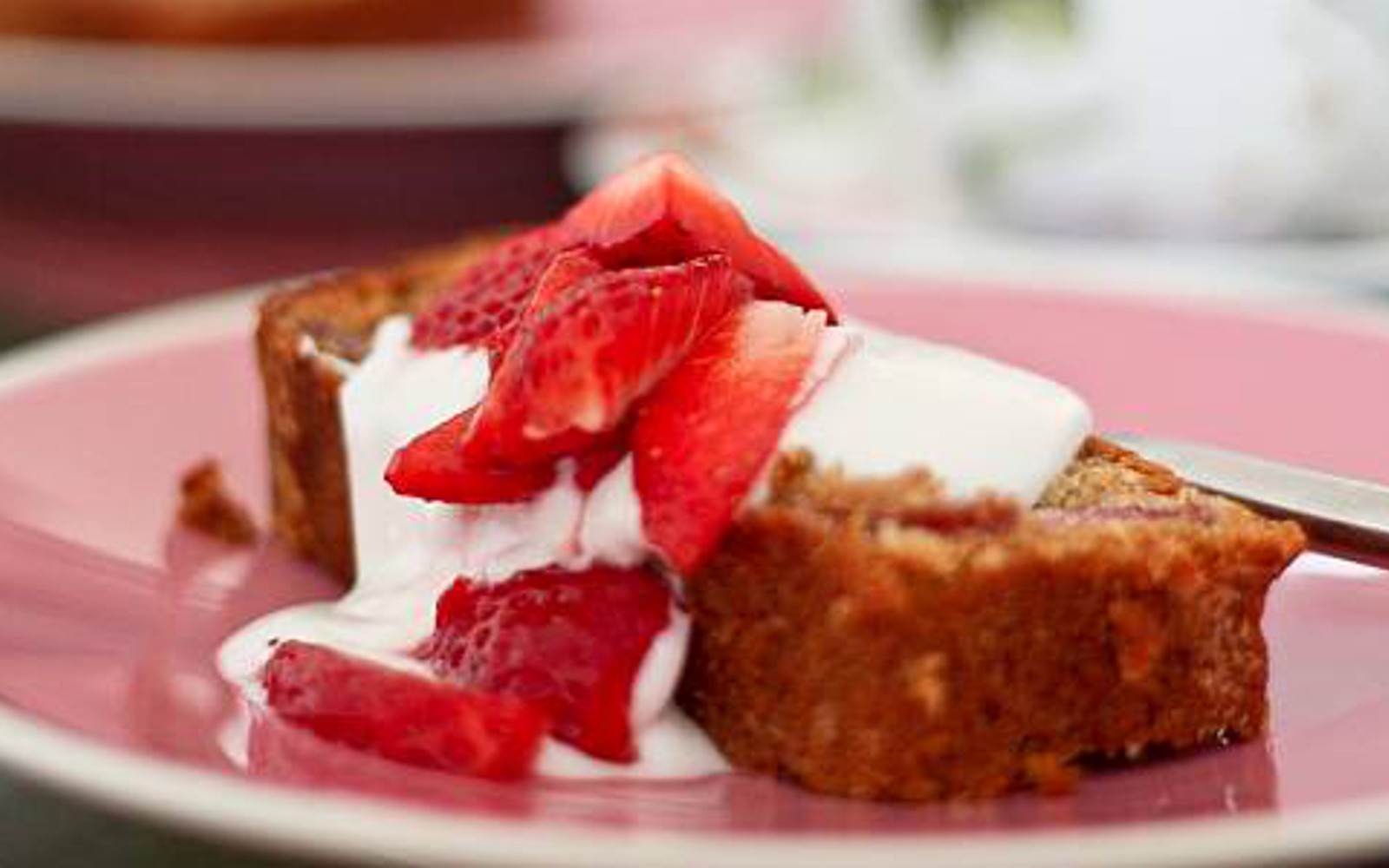 pineapple and strawberry bread
