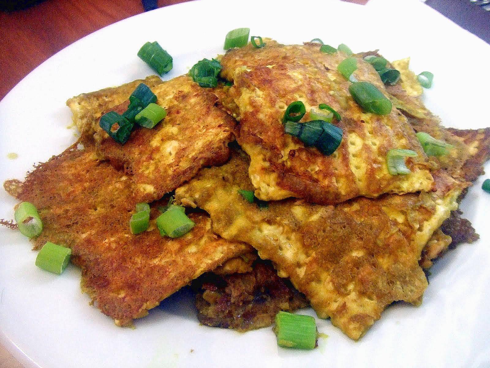 Vegan Fried Matzo/Matzo Brei