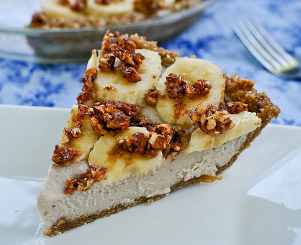 Banana Bourbon Pie