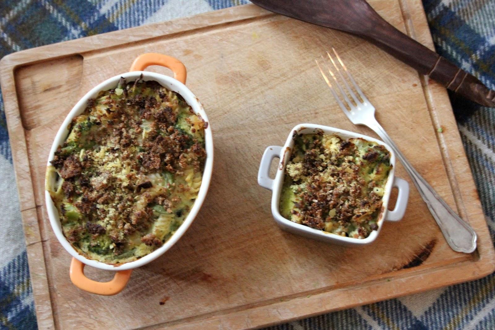 broccoli cheese pasta bake