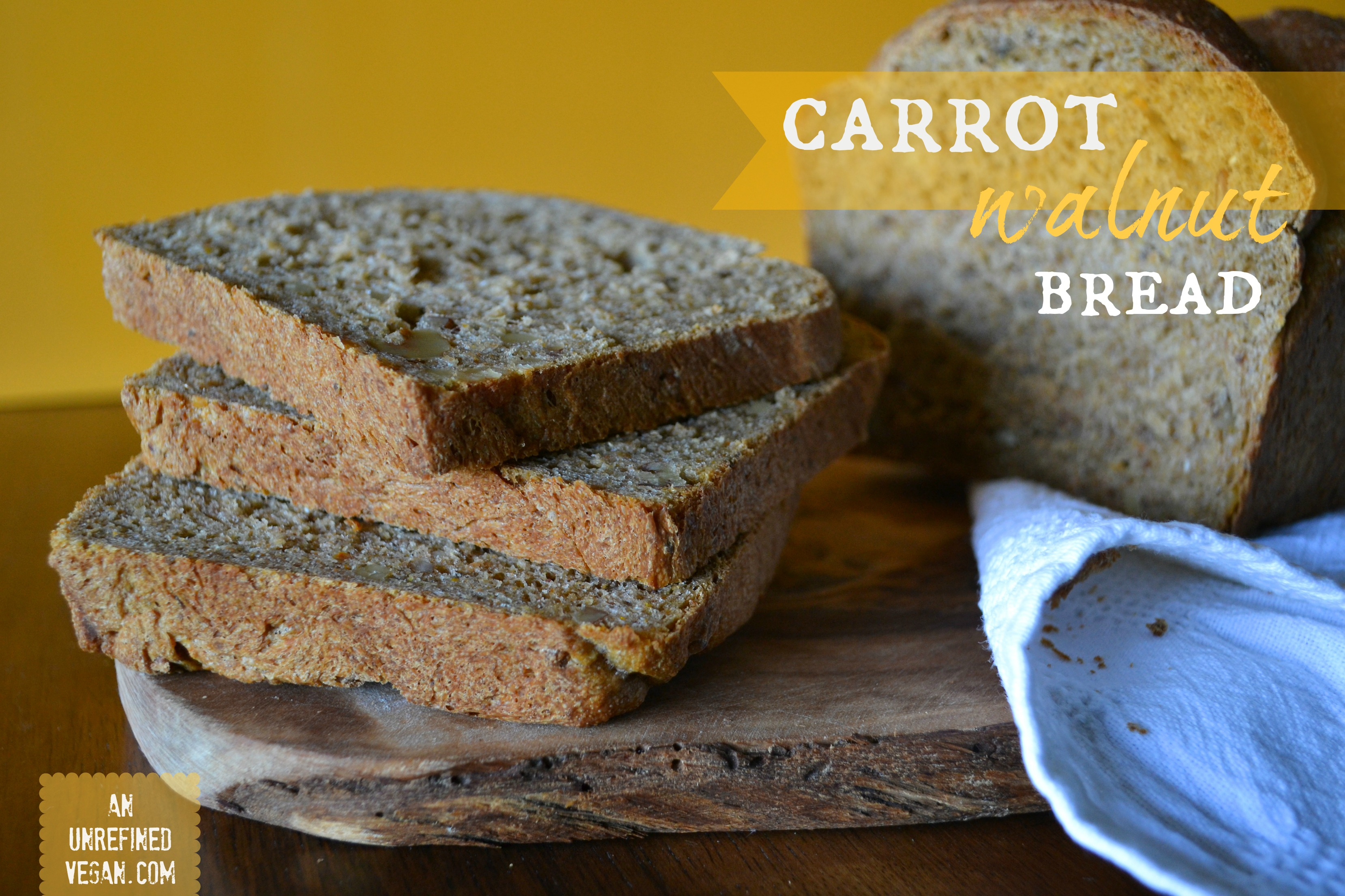Carrot Walnut Bread