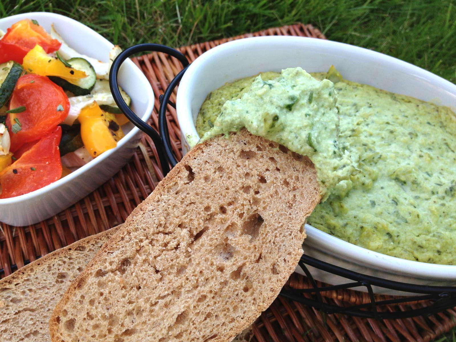 Creamy Vegan Artichoke Spinach Dip