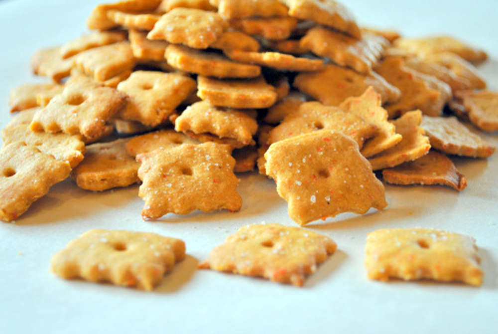 Healthy Vegan Cheez-It Crackers