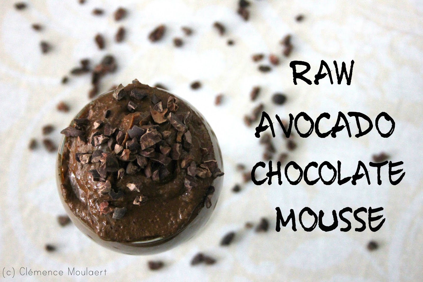 Raw Avocado Chocolate Mousse