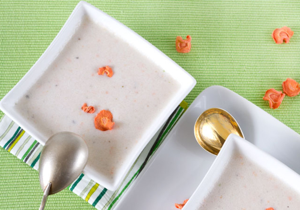 Raw Cauliflower Creme Soup