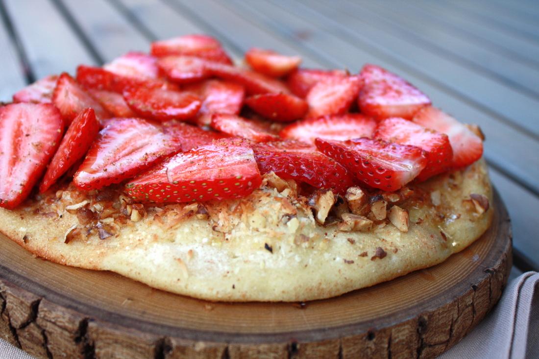Strawberry Flatbread
