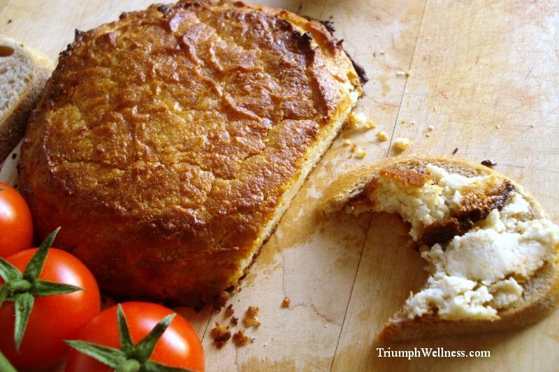baked vegan cheese