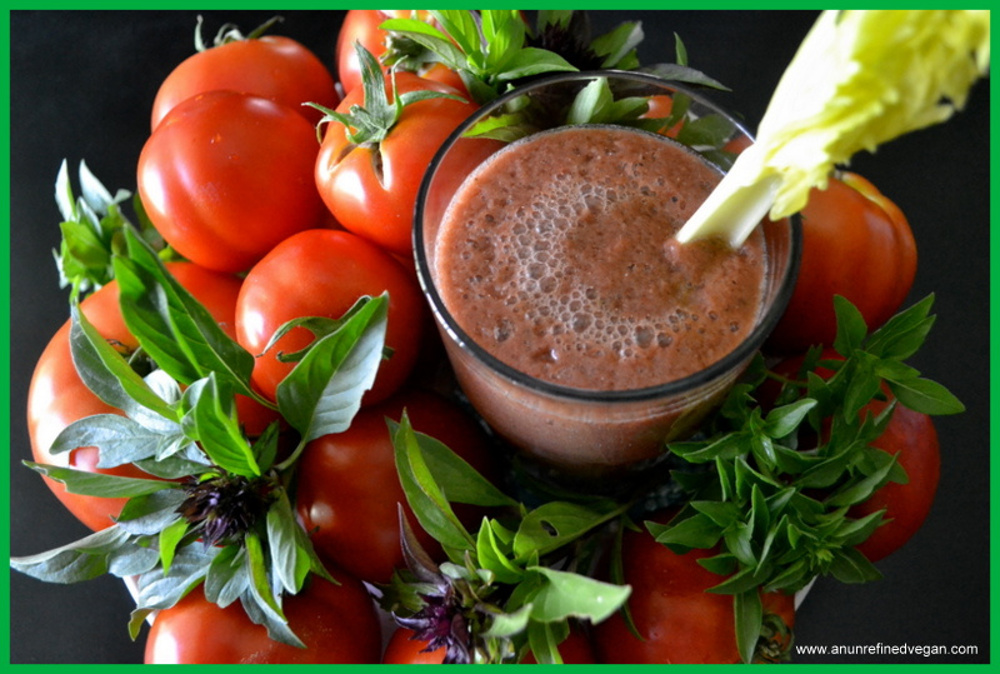 Bloody Mary Green Smoothie