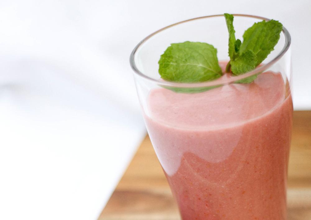 Decadent Strawberry Shortcake Smoothie